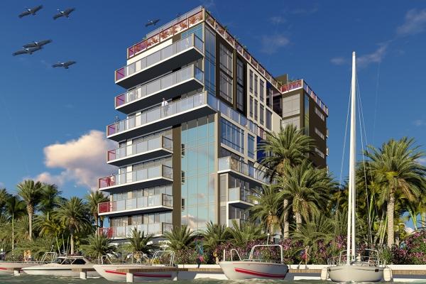 Fjölbýlishús Miami Florida   Atelier arkitekta